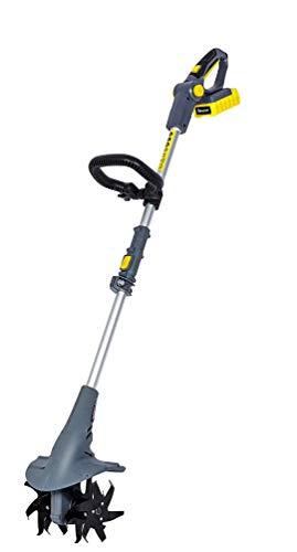 FANZTOOL 20V Motorhacke Mini-Bodenhacke Bodenkrümler Gartenhacke Kultivator mit 20cm Arbeitsbreite und leistungsstarkem 2,5Ah Li-Ion-Akku von SAMSUNG