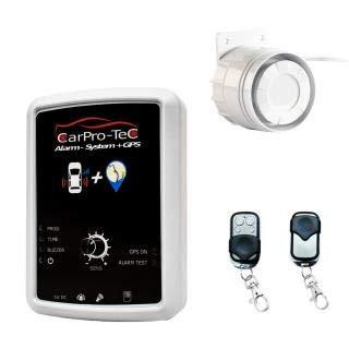 Auto Alarmanlage mit GPS-Tracker und SMS - Keine Verkabelung und Werkstatt notwendig, nur ins Auto Legen, sichert Türen, Scheiben, Kofferraum, Abschleppen