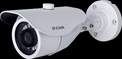 D-Link DCS-F1712 2MP HD Day and Night Fixed Bullet Camera with 30M of IR Range (White)