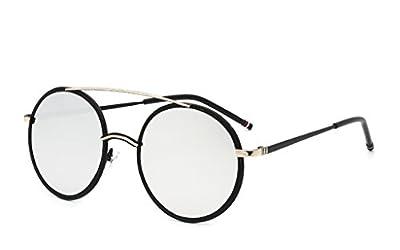 XW Brillen Trend Sonnenbrille Damen Persönlichkeit Sonnenbrille Treiber Fahren Sonnenbrille Reflektor