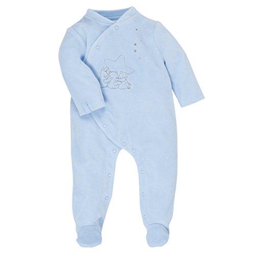 Noukies BB1512131, Ensemble de pyjama Bébé garçon, (Bleu Cocon), FR (Taille Fabricant: 1 Mois)