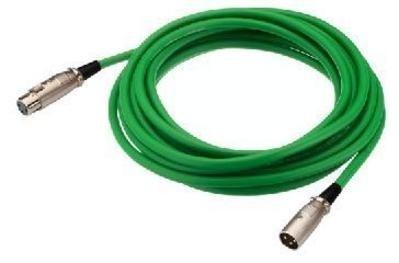 Img Stage Line MEC-190/GN Mikrofonkabel (XLR-Stecker/XLR-Kupplung) 2m grün
