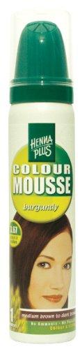 HennaplusColour Mousse Burgundy 3.67 - 75 ml
