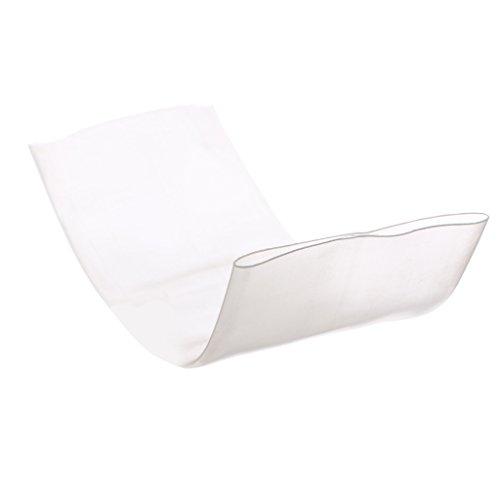 Homyl Schrumpfschläuche 60mm Wärmeschrumpfender Schlauch Hülse für maximalen Schutz der Faser -Klar - 50mm x 0.2m