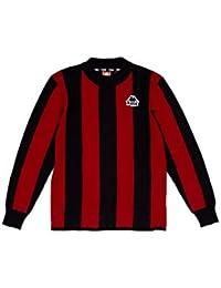 Kappa Jersey AYRONE Sweat Shirt 903 Red Dark Black