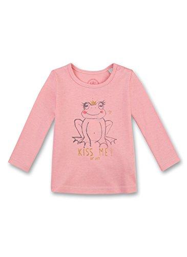 Peach Mädchen-shirt (Sanetta Baby-Mädchen Langarmshirt 114155, Orange (Peach 2149), 68)