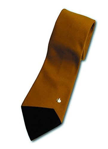 Star Trek The Next Generation: Brown Tie With Magnetic Emblem