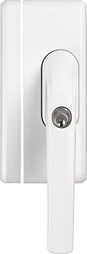 fenstergriff alarm ABUS Fenstergriff-Schloss FO400A mit Alarm, gleichschließend, weiß, 33270