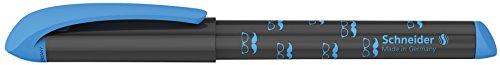 Schneider 162033Easy-Füllfederhalter 10Stifte, Spitze mittel grau/blau