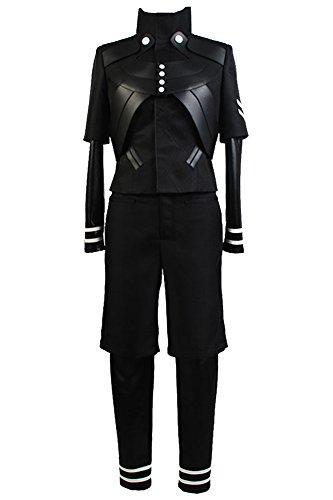 Daiendi Combinaison pour cosplay Ghoul A Ken Kaneki Taille adulte - noir - Taille L (homme)