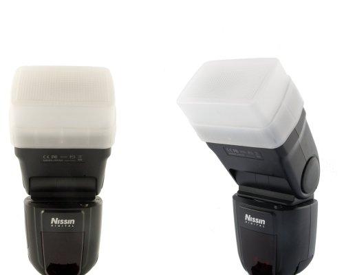Blitzvorsatz / Bouncer für Nissin DI700