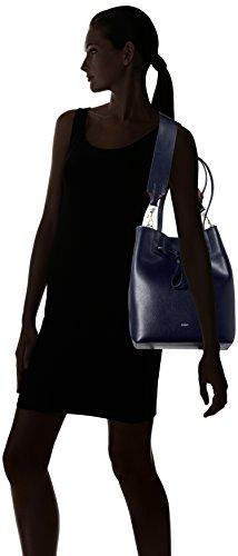 JOOP - Grano Colorblocking Lyda Matchsack Mvo, Borsa a spalla Donna Blu (Blu scuro e)