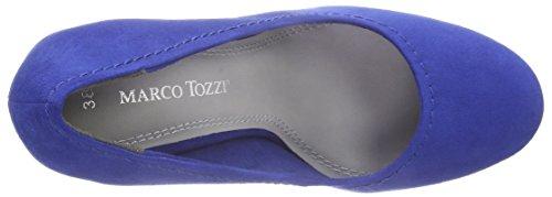 Marco Tozzi Damen 22425 Pumps Blau (ROYAL 838)