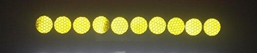 stickerslab Verdunkelungsfolie–Felgen Reflektierende Aufkleber Reflektierende 10Stück Durchmesser 27mm-Schrauben-Muttern Räder Lkw