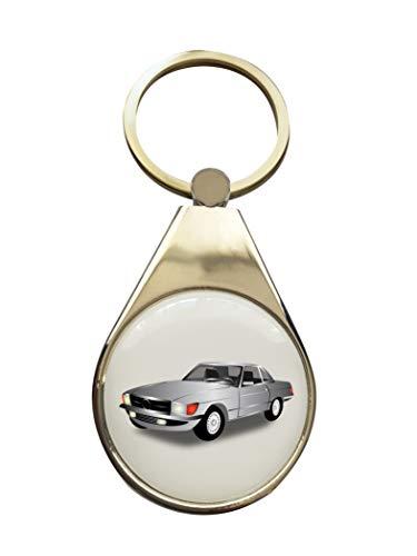 StartYourDreamCar Schlüsselanhänger - Mercedes Benz - Coupe SL(C) W107/ R107