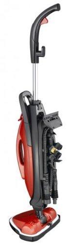 Dampfreiniger Melissa 3in1 Dampfbesen für den Haushalt Dampfmob zur Boden-Reinigung mit Fenster-Reinigungs Set
