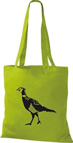 Fasan Kiwi Pheasant Shirtstown Tiere Huhn Stoffbeutel EqqZw7
