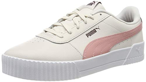 Puma Damen Carina L Sneaker, Rosa (Pastel Parchment-Bridal Rose 05), 39EU