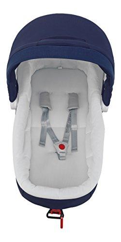 Inglesina A090HB300 Pro Kit Auto 3P per Culla, Bianco