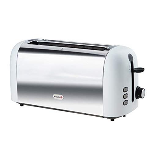 Automatic Spit Driver Home Frühstück Toaster Edelstahl 4 Scheiben Toaster Gebackenes Brot Top...