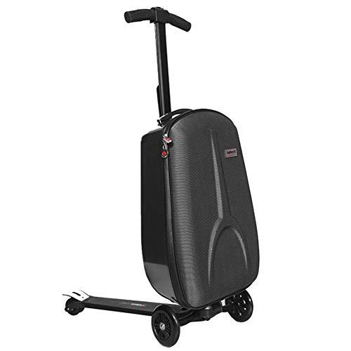 ABYYLH Elektrofahrrad Herren/Damen Klappbar Faltbares E-Bike Roller 25Km/H Schwarz