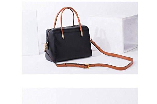 versione coreana del nuove borse, piccola borsa del partito in pelle, tracolla in pelle, sacchetto del messaggero, sacchetti delle signore black