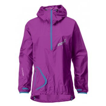 Inov8 Race Elite 140 Stormshell Waterproof Smock Purple/Turquoise Womens S/UK8/EU34/US4