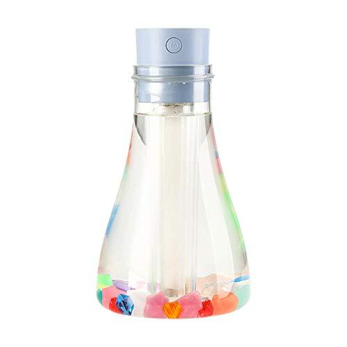 Ich wünsche der Flasche Luftbefeuchter USB Mini große Kapazität kreative Luftzerstäuber nach Hause Geschenk stumm blau