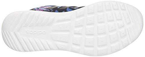 adidas Cloudfoam Qt Racer W, Scarpe da Ginnastica Donna Nero (Cblack/Cblack/Shopin)