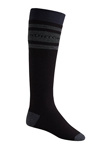 Burton Herren Weekend 2 Pack Snowboard Socken, True Black, L