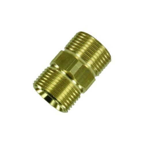 Schlauchverbinder PremiumPlus!+ für Hochdruckschläuche von Kärcher und Kränzle Hochdruckreiniger HD & HDS mit M22 Gewinde wie 4.403-002.0 von ONE! - Made in Germany
