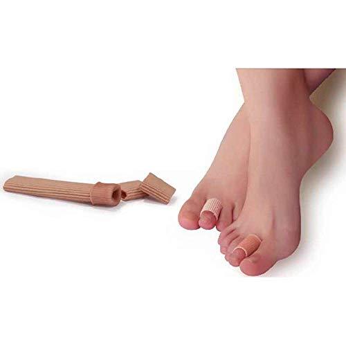 MXSDEV 1 Stücke Schlauchverband Hallux Valgus Orthopädische Silikon Zehenschutz Schmerzlinderung Schutz Finger Separator Maniküre Pediküre -