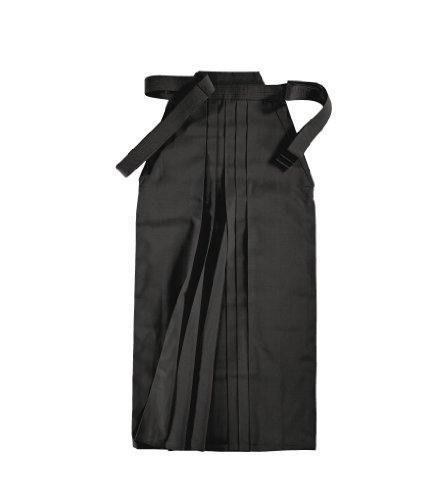 KWON Hakama clubline Hakama - Hakama de Artes Marciales, tamaño 190 UK, Color Negro