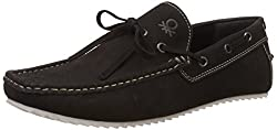 United Colors Of Benetton Mens Black (903) Leather Loafers and Mocassins - 7 UK/India (41 EU)