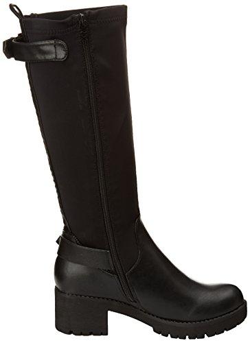 XTI 28765, Stivali modello classico, non imbottiti donna Nero (Nero (Negro))