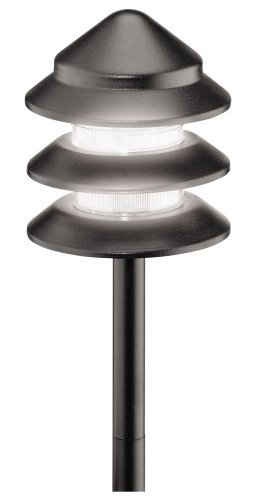 Price comparison product image Malibu 8301-9202-01 Metal Tier Light, Black by Malibu