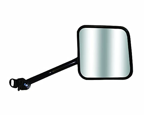 CIPA 44801 Jeep Wrangler OE Style Manual Replacement Passenger Side Mirror by CIPA