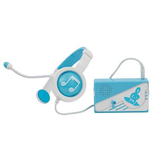 Giochi Preziosi Miracle Tunes Cuffie con Amplificatore Base Musicale, Azzurro