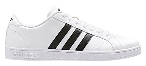 adidas Damen Baseline W High-top, Varios Colores (Blanco Negbas/Ftwbla), 40 2/3 EU
