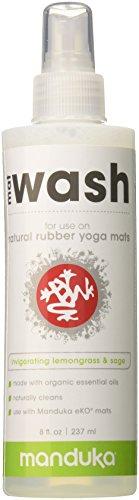 Manduka Organic Yoga Mat Cleaner, 8 oz, Lemongrass and Sage