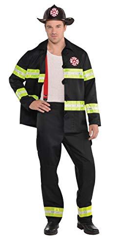 Enter-Deal-Berlin Herren Kostüm Feuerwehrmann Größe M
