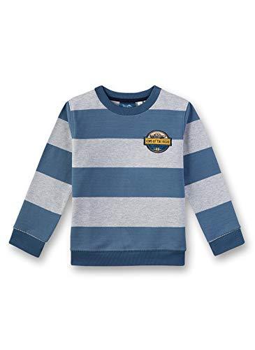 Sanetta Jungen Sweatshirt, Blau (Blue 50311), (Herstellergröße: 140) -