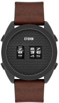 Storm London KOMBI SLATE LEATHER BROWN 47415/SL/BR Orologio da polso uomo