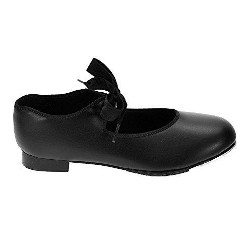 Capezio 925 Noir Tap Shoes Low Heel Fit moyen Noir