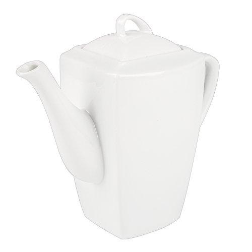 MALACASA, Série Blance, Théière Services à Thé 850ml Porcelaine