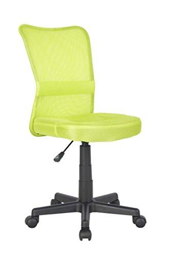 SixBros. Bürostuhl Drehstuhl Schreibtischstuhl Grün H-298F/2066