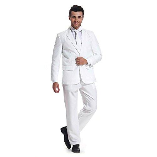 U LOOK UGLY TODAY Herren Anzug Party Weihnachts Kostüm Modisch Normaler Schnitt Festliche Anzüge Party Suits ()