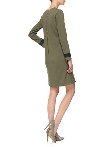 YULIYA BABICH Designer Damen Kleid YY200047 RAL6007; Khaki