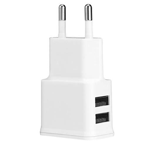 Camellia Professionelle tragbare Ladegerät 2A Dual 2Ports USB EU Ladegerät Adapter für Samsung iPhone HTC Moto Perfect () I9 Stature Usb