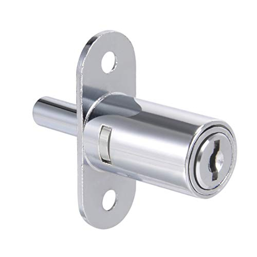 ZCHXD Plunger Lock, Keyed Different, 3/4-inch(19mm) Cylinder Track Push -